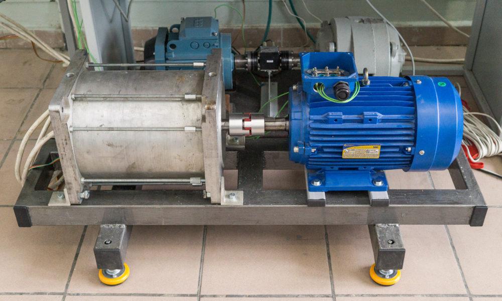 Приемочные испытания вентильно-индукторной машины